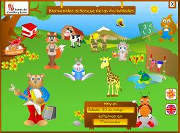 El Bosque de las actividades ( español e inglés)